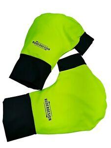 Ruderhandschuhe-neon-grun-schwarz-mit-Aufdruck-Rudern-Rowing-Poggies