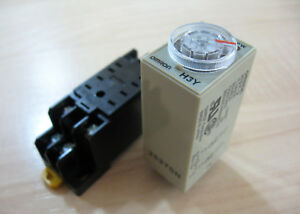 Omron Delay-On Timer Time Relay 0.5~10min 2-Pole 12VDC H3Y-2 w ... on omron solid state timer, omron h3y-2 12vdc, omron time delay relay on 60 min, omron h3y-4,