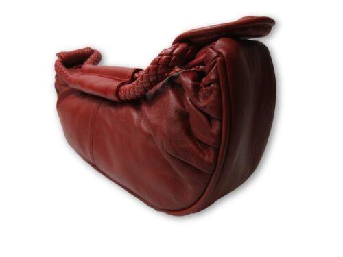 Ladies Womens New Genuine Super Soft Leather Lorenz Handbag Shoulder Bag Clutch