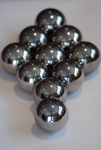 """10 9//64"""" Inch G25 Precision 440 Stainless Steel Bearing Balls"""