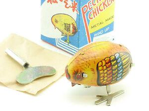 MS 006 Pecking Chicken Pickendes Huhn Blech Uhrwerk China alt OVP SG 1412-06-70 - Königsbrunn, Deutschland - MS 006 Pecking Chicken Pickendes Huhn Blech Uhrwerk China alt OVP SG 1412-06-70 - Königsbrunn, Deutschland
