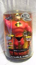 """2004 Hasbro Disney/Pixar The Incredibles Mr. Incredible 15"""" Talking Figure"""