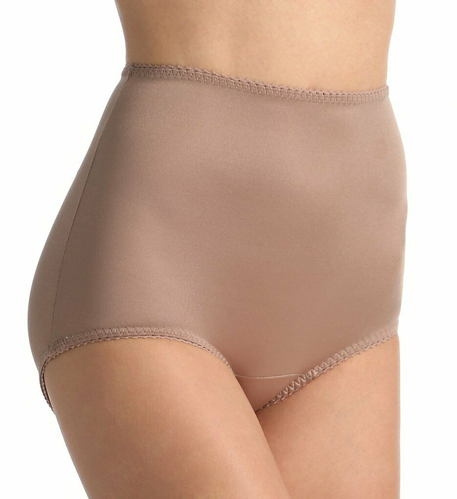 Rago Shapewear Full-Cut Control Mocha Shaper Brief Super Plus Size 52 11XXL