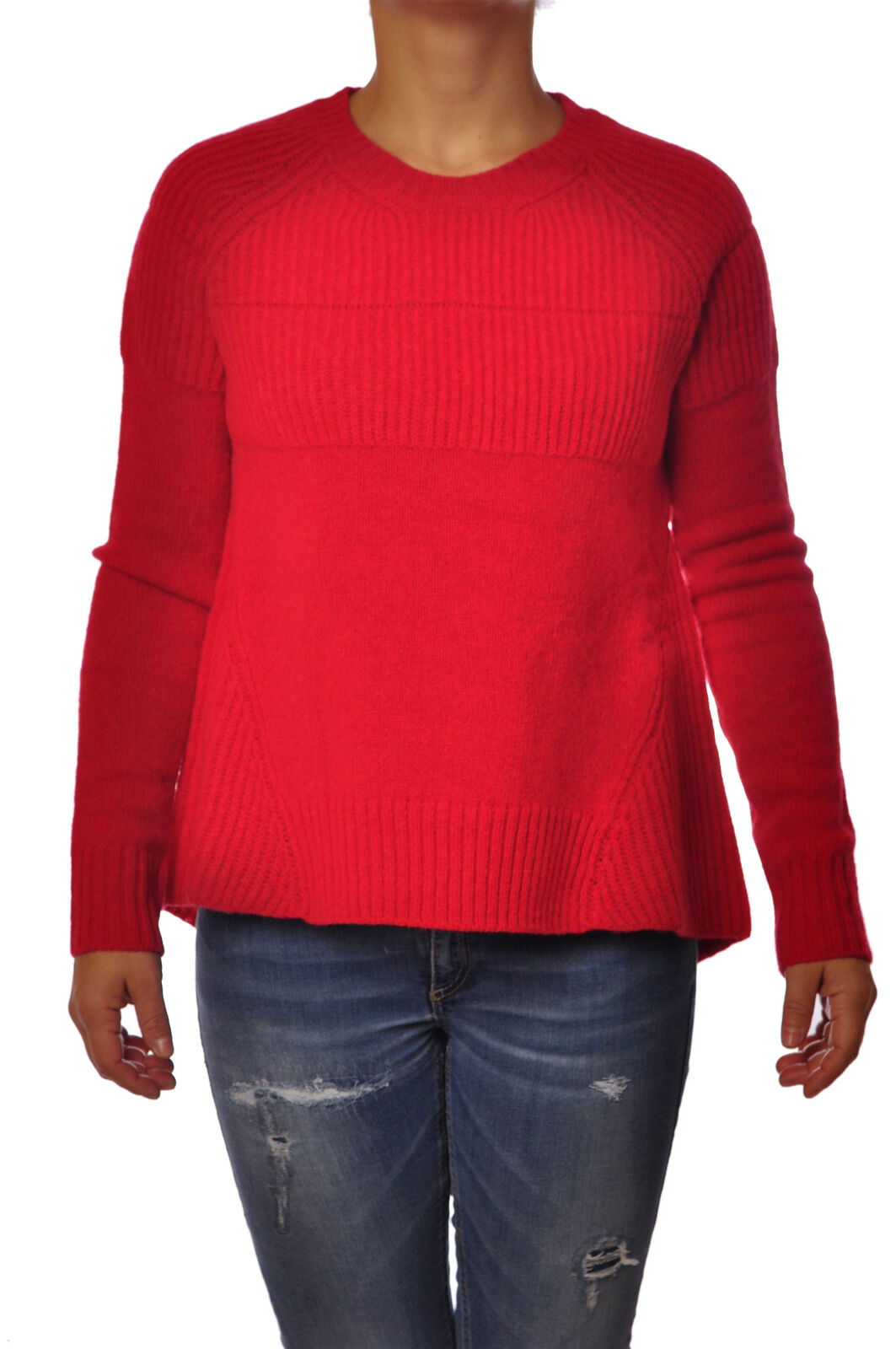 Dondup  -  Sweaters - Female - rojo  - 2662128N174009  Felices compras