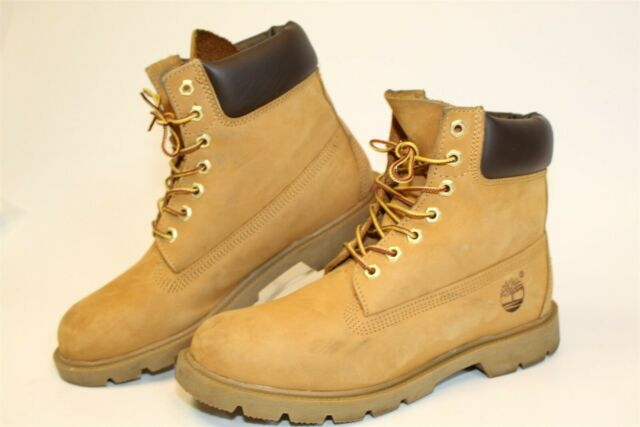 Timberland 18094 Mens 8.5 M Brown Leather 6 Inch Basic Waterproof Chukka Boots