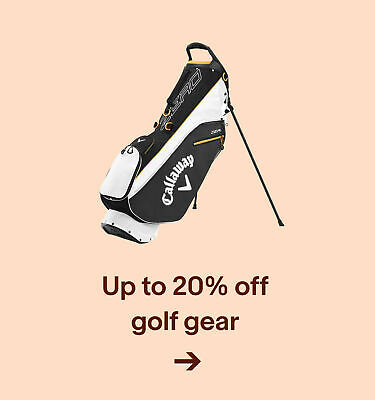 Up to 20% offgolf gear
