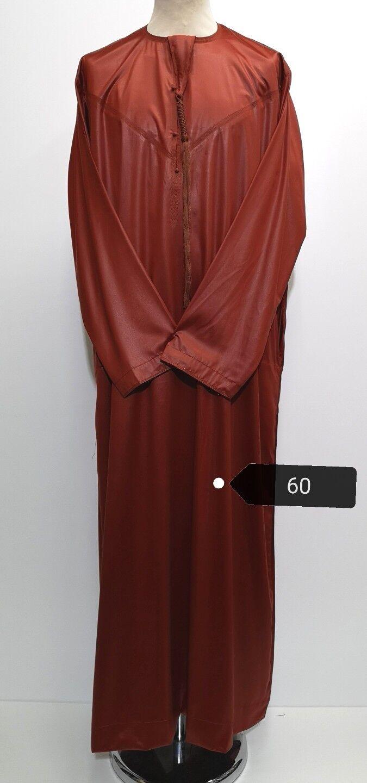 Exclusive Emaratee. emarati    Omani Thobe for Men,custom made .Größe 60 .6 colours | Starke Hitze- und Hitzebeständigkeit  a696ab