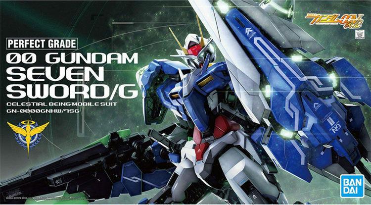 Bandai 1  60 PG GN -0000GNHW  7SG00 Gundam Sju Svärd  G