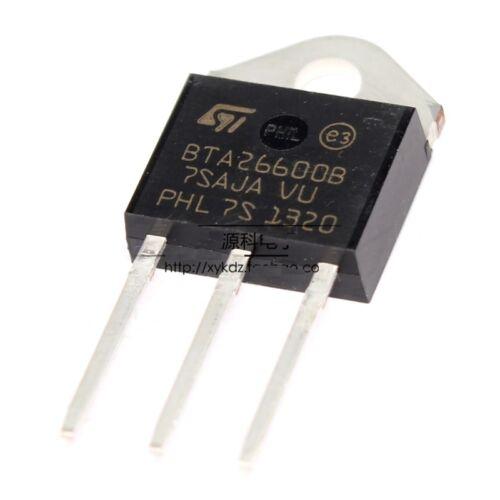 10PCS BTA26-600B BTA26-600B TRIAC BTA26600B STM TOP-3L IC