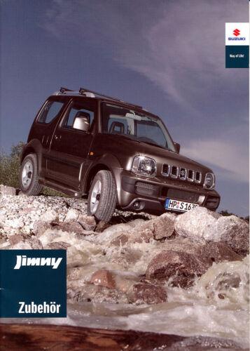 tedesco-NL-commercio di spedizione prezzi 05//2009 SUZUKI-JIMNY ACCESSORI-prospetto