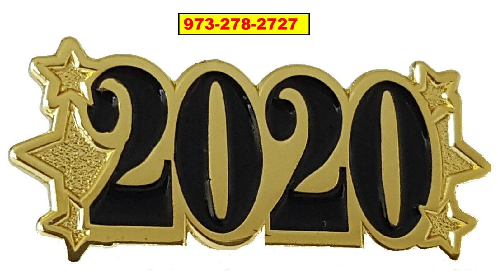 Graduation Gift 48 2020 Graduation Metal Lapel Pin-2020 CLASS OF 2020 STAR PIN