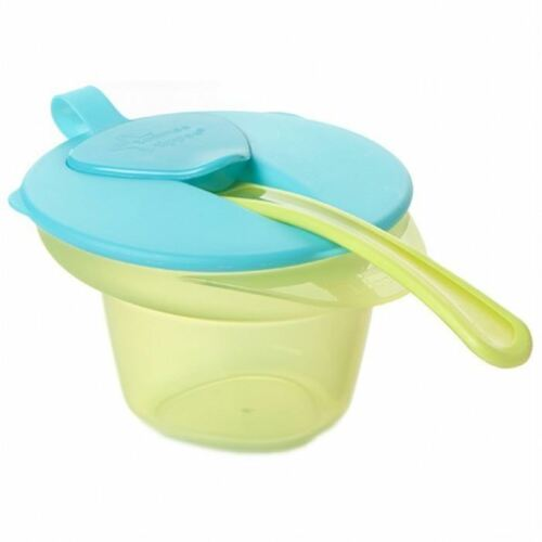 Tommee Tippee Cool & Mash Weaning Bowl 4m+ Turquoise/Green 1 2 3 6 12 Packs