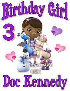 Birthday T-Shirt Party Favor Doc McStuffins Personalized