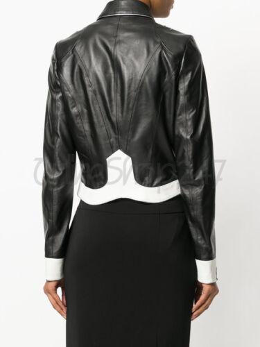 Nerobianco Silver Studded New Jacket Woman Punk Wonderful Designed Leather 900 Fq1nZqg