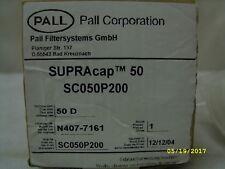 Pall Supracap 50 K200p Media Grade Filtration Filter Capsule Sc050p200