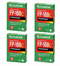 40 Exposure Fuji FP-100C Instant Color Film 4 Packs Fujifilm FP100C