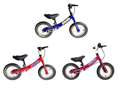 "Tiger Wheelie Kids 12/"" Wheel Balance Training Bike Bicycle V Brake 3 Colours"