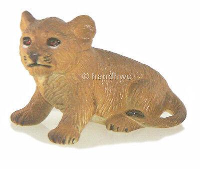 AAA 96765SIT Lion Cub Sitting Model Animal Toy Figurine Replica - NIP