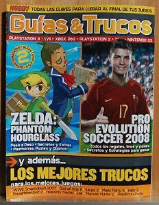 Details about Guides & Tricks - Zelda Phantom Hourglass - pro Evolution  Soccer 8 Hobby