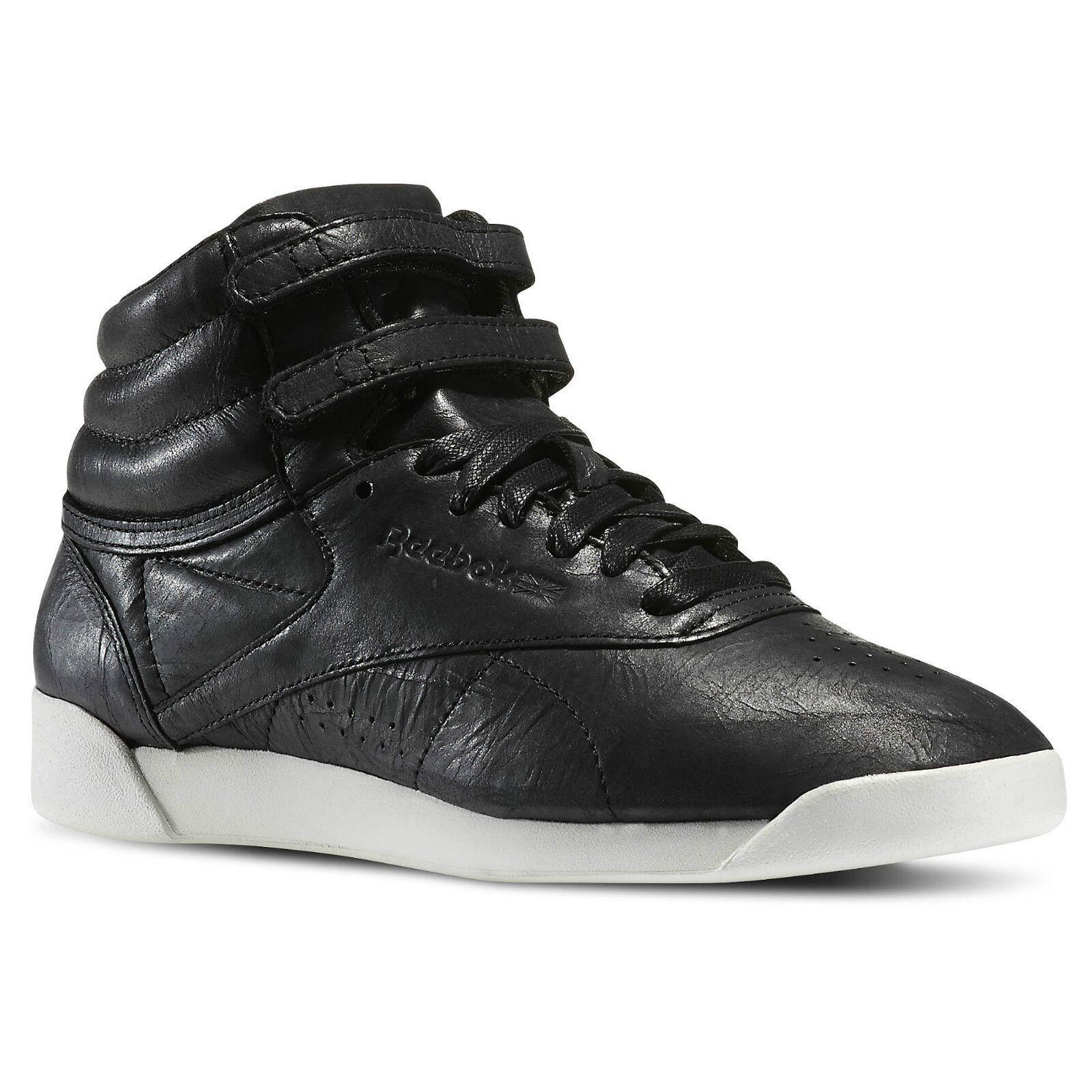 REEBOK F S HI PREMIUM LUX SHOE shoes BOTA black V62457 (PVP EN TIENDA 89EUR)