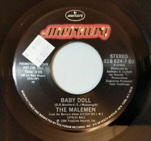 The-Malemen-Baby-Doll-45-Mercury-Funk-Boogie-1984-Promo-EX