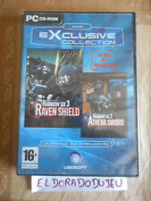 ELDORADODUJEU   RAINBOW SIX 3 RAVEN SHIELD + ATHENA SWORD PC VF 4 CD