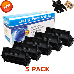 5 PK Black Toner Cartridge For Okidata 52123601 B710DN B710N B720N B730DN B730N