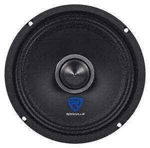 "Rockville RXM64 6.5"" 150w 4 Ohm Mid-Bass Driver Car Audio Speaker Mid-Range"