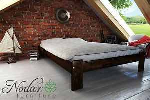 New Solid Pine 5ft King Size Bed Frame Slats F15 Ebay