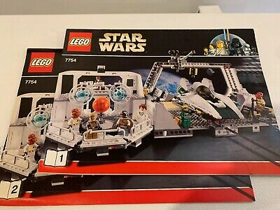 LEGO Star Wars 7754 Instruction Manual Calamari Lot Books 1 /& 2