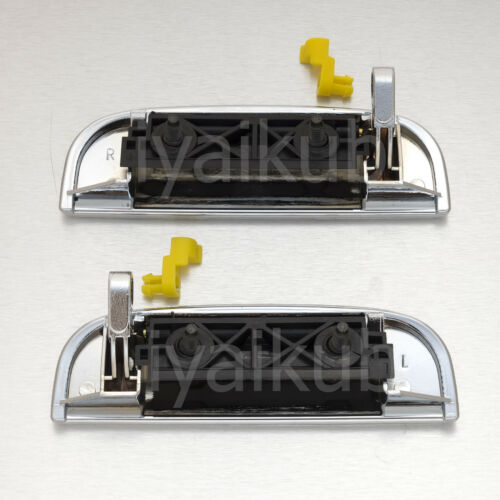 04-14 Suzuki Carry APV Pair Chrome outer door handle truck outside exterior