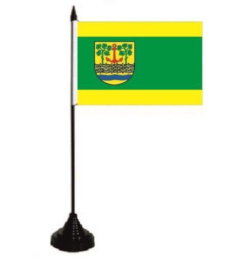 Nordfriesland Tischflagge Leck Tischfahne Fahne Flagge 10 x 15 cm