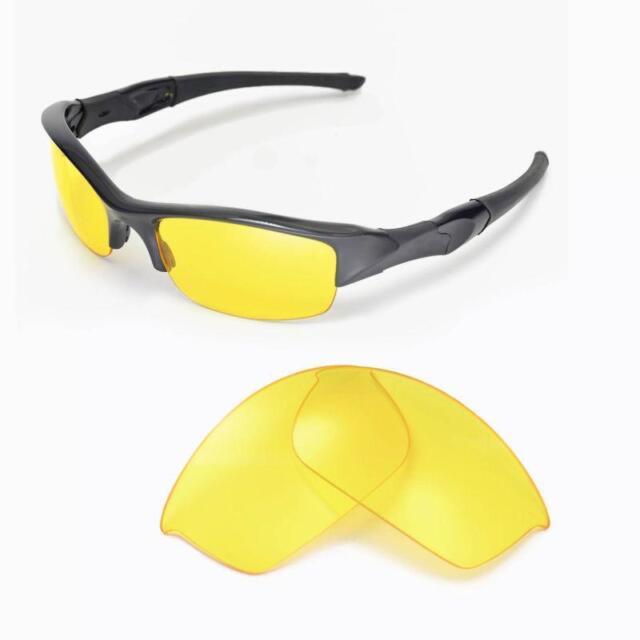 63f8ec229b Walleva Yellow Replacement Lenses for Oakley Flak Jacket Sunglasses ...