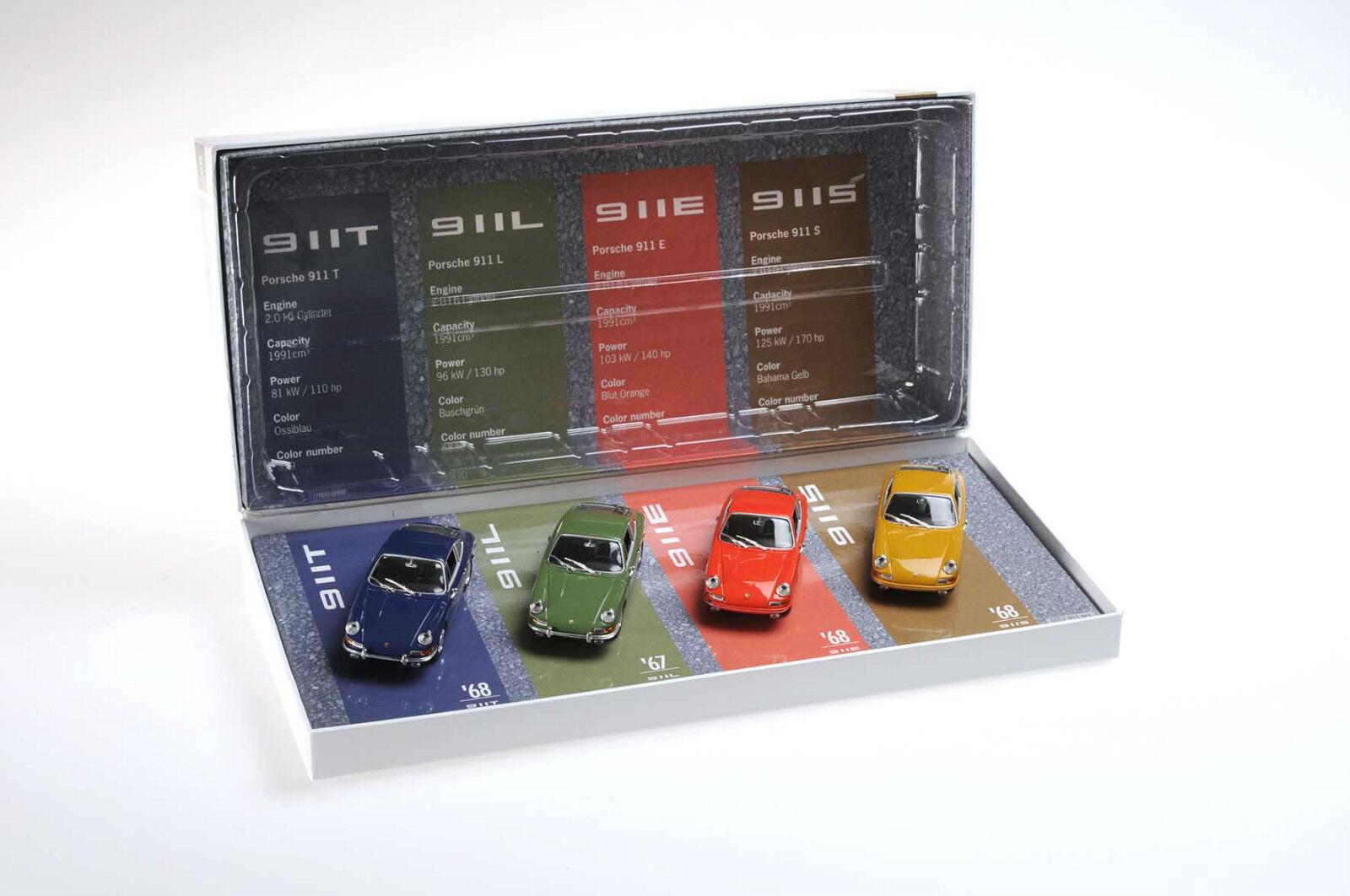 Porsche 911 Limited set 1 43 911S 911T 911L 911E Minichamps PCG set 001