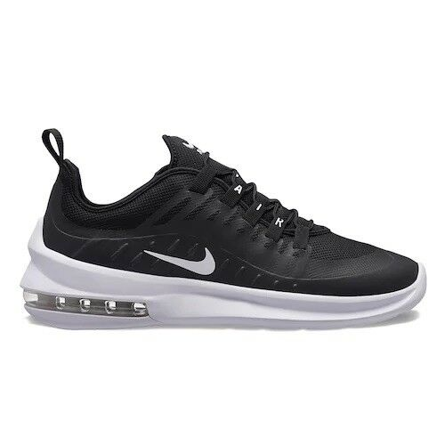 Men's Nike Air Max Axis Running Shoe Black/White Sizes 8-12 NIB AA2146-003