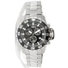 Invicta 13624 Men's Specialty Black Dial Steel Chrono Watch