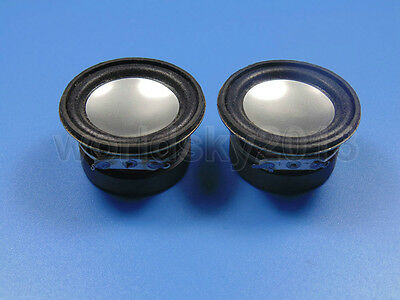"2pcs 1.5"" inch 4Ohm 4Ω 3W Full Range Audio Speaker Stereo Woofer Loudspeaker"