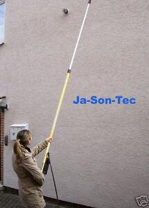 Teleskoplanze-fuer-Hochdruckreiniger-Fassade-Daecher-Hallen-bis-7-3Mtr-ausziehbar