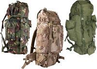 British Army Combat Rucksack Bergen 60 - 70 Litre Multicam Dpm Mtp Olive Green