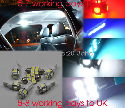 Ford Mondeo MK4 3SMD LED Error Free Canbus Side Light Beam Bulbs Pair Upgrade