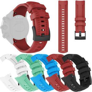 Für SUUNTO 9 / Baro Smartuhr Uhrenarmband Sport Silikon Ersatz Armband
