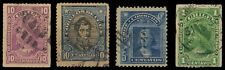 CHILE Old Pre 1920 Period-4 Different Used Stamps