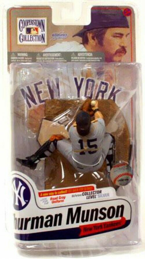 Cooperstown Collection Series 7 Thurman Munson (New York Yankees) Action Figure