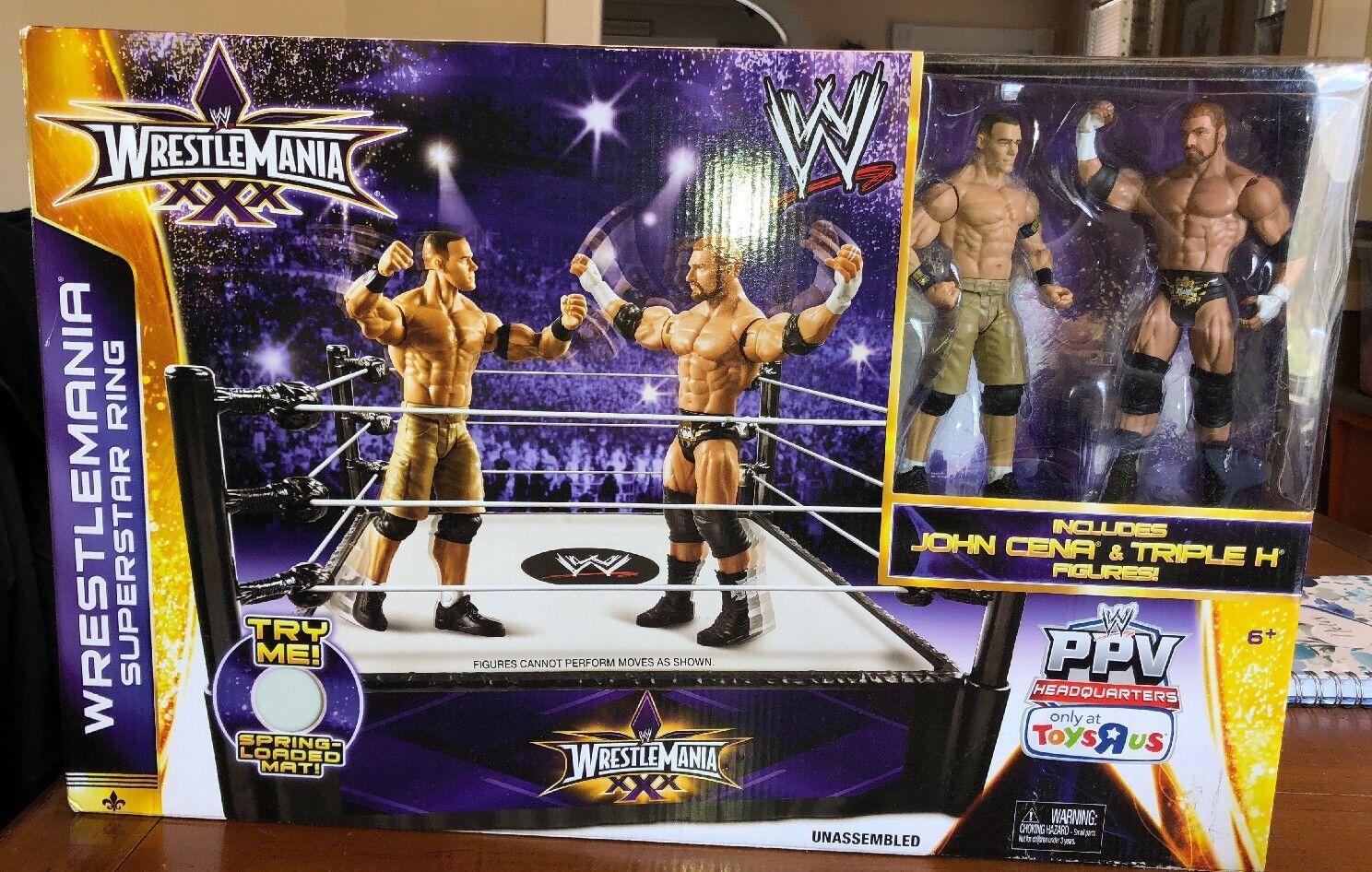 Combat XXX Superstar Ring John Cena Triple H Neuf Scellé TOYS R US