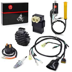 CDI Ignition Coil Spark Plug Wire Harness Assy For Honda Sportrax 400  TRX400EX | eBay | Spark Plug Wire Harness |  | eBay