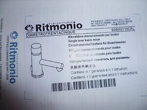 Aggressiv Ritmonio Diametrotrentacinque Waschtischarmatur Chrom Eoba0110crl Neue Sorten Werden Nacheinander Vorgestellt Bad & Küche