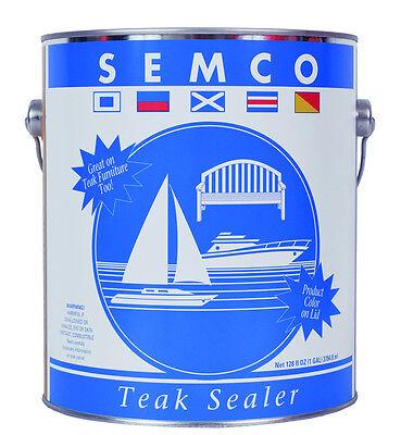 Zubehör Neue Mode Behandlung Teak Sonstige Versiegelung Semco 3.78l Exquisite Handwerkskunst;