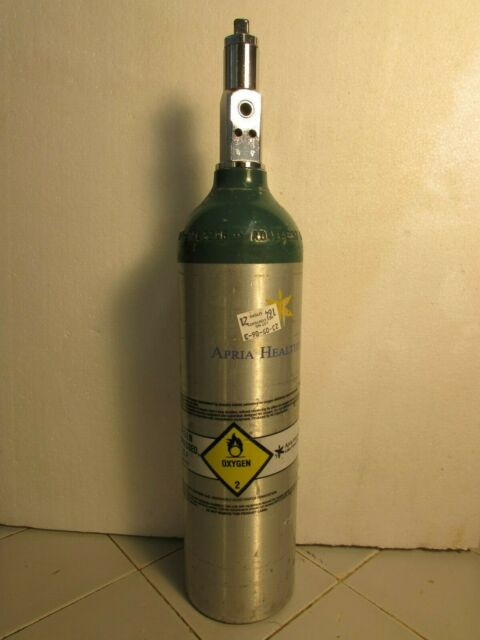 Oxygen Tank For Sale >> Used M6 Medical Oxygen O2 Cylinder Tank Un 1072 6 Cu Ft With Valve 12