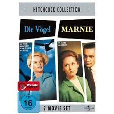 ALFRED HITCHCOCK-DIE VÖGEL/ MARNIE - 2 DVD NEU TIPPI HEDREN,ROD TAYLOR,J. TANDY