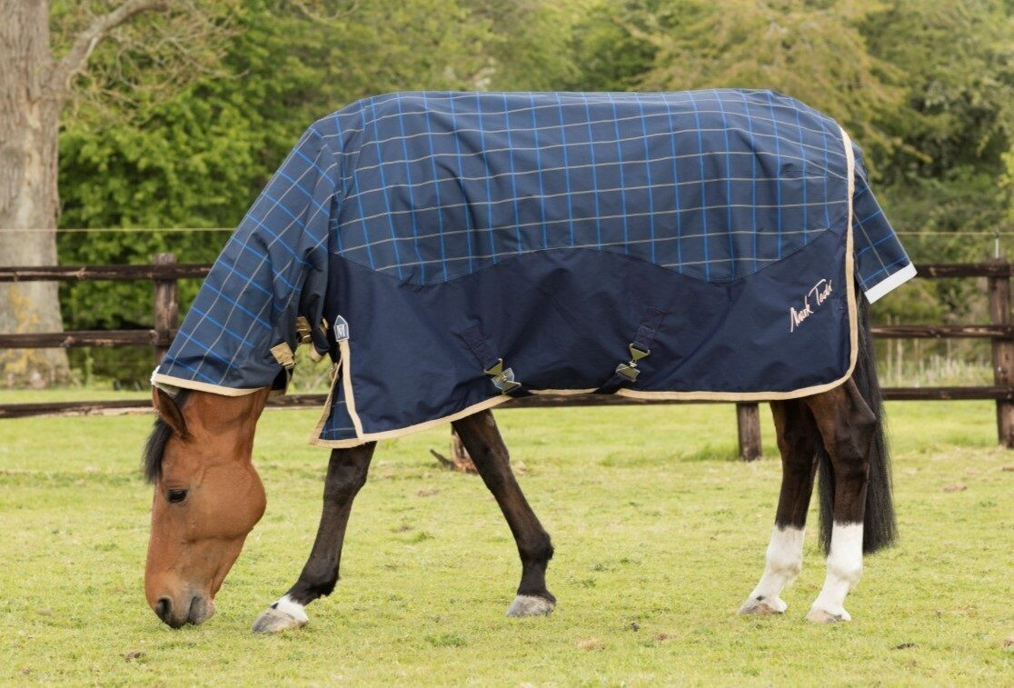 New Style Mark Todd LIGHTWEIGHT COMBO TURNOUT RUG Plaid 0g 600d  5'6'' - 7'0''